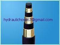 Industrial medium,high pressure hydraulic rubber oil hoses 2