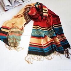 2014 new style digital printing silk scarf