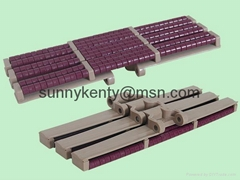 LBP Plastic Chains for food and beverage industry packaging lines