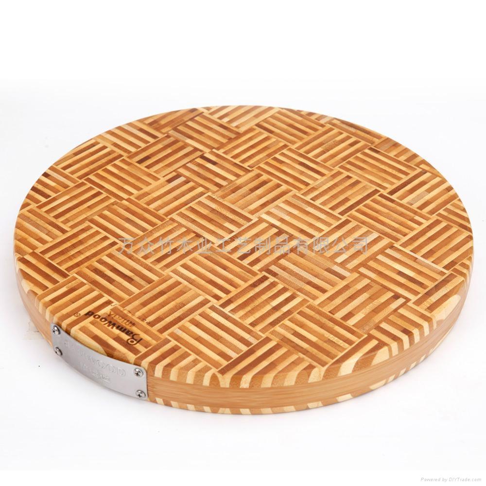 柏運達Bamwood二代圓形竹砧板 1