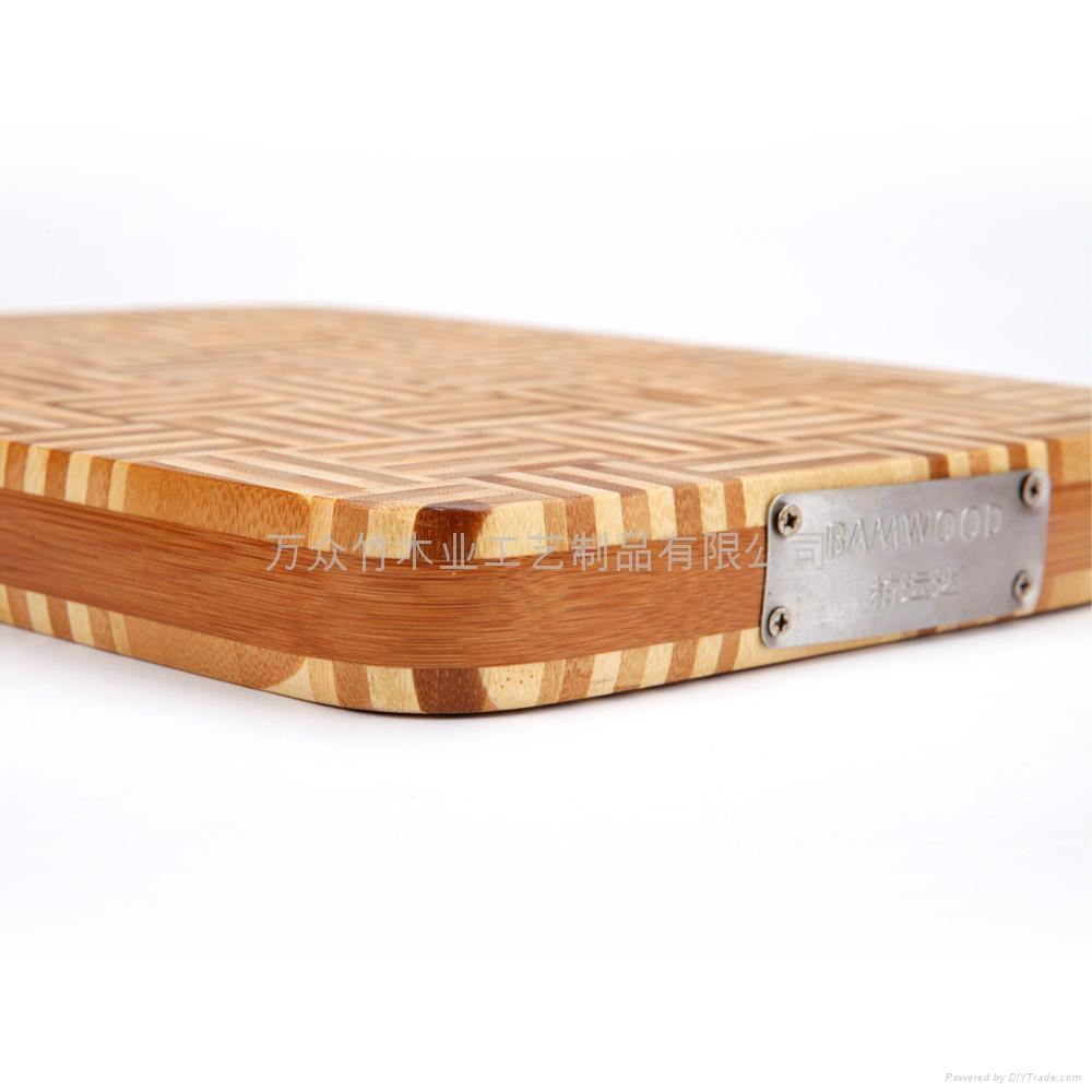 柏運達Bamwood二代方形竹砧板 4