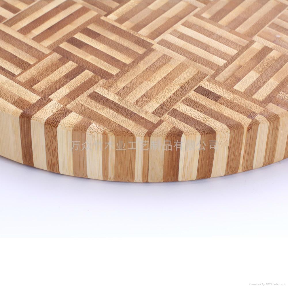 柏運達Bamwood一代圓形竹砧板 3