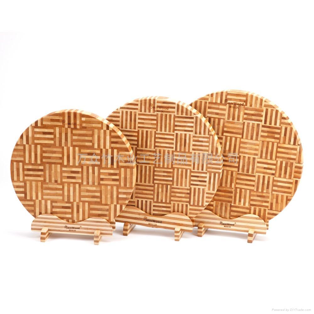 柏運達Bamwood一代圓形竹砧板 4