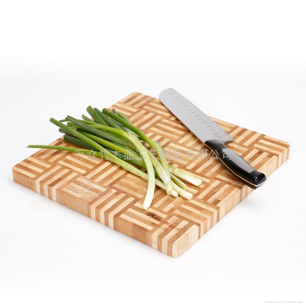 柏運達Bamwood方形水果竹砧板 2