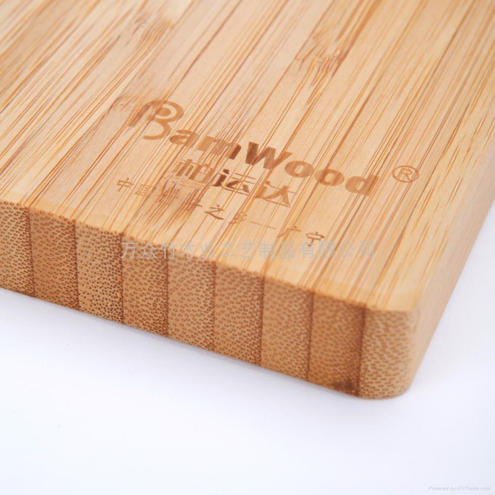柏運達Bamwood長方形帶圓孔竹砧板 4