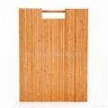 柏運達Bamwood長方形帶圓柱竹砧板 2