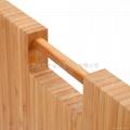 柏運達Bamwood長方形帶圓柱竹砧板 3