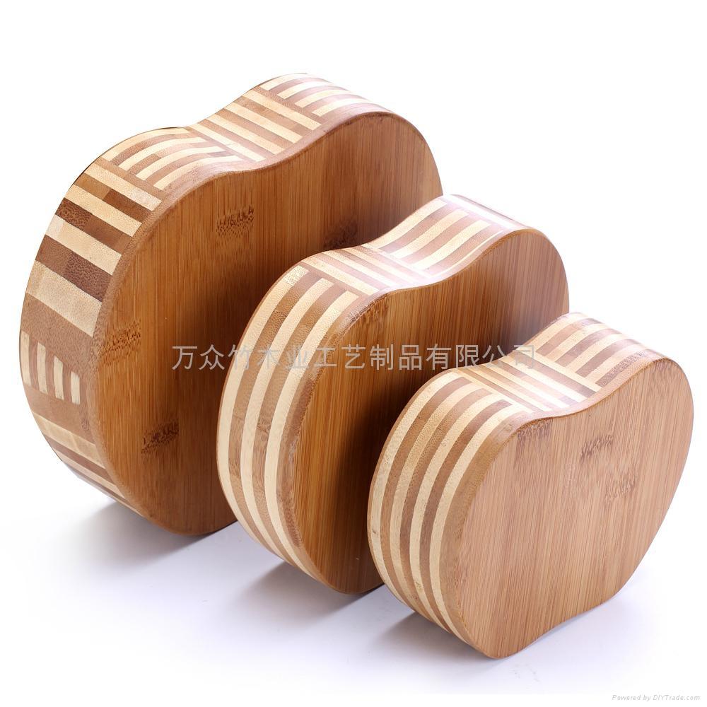 柏運達Bamwood心形竹糖果盤 4