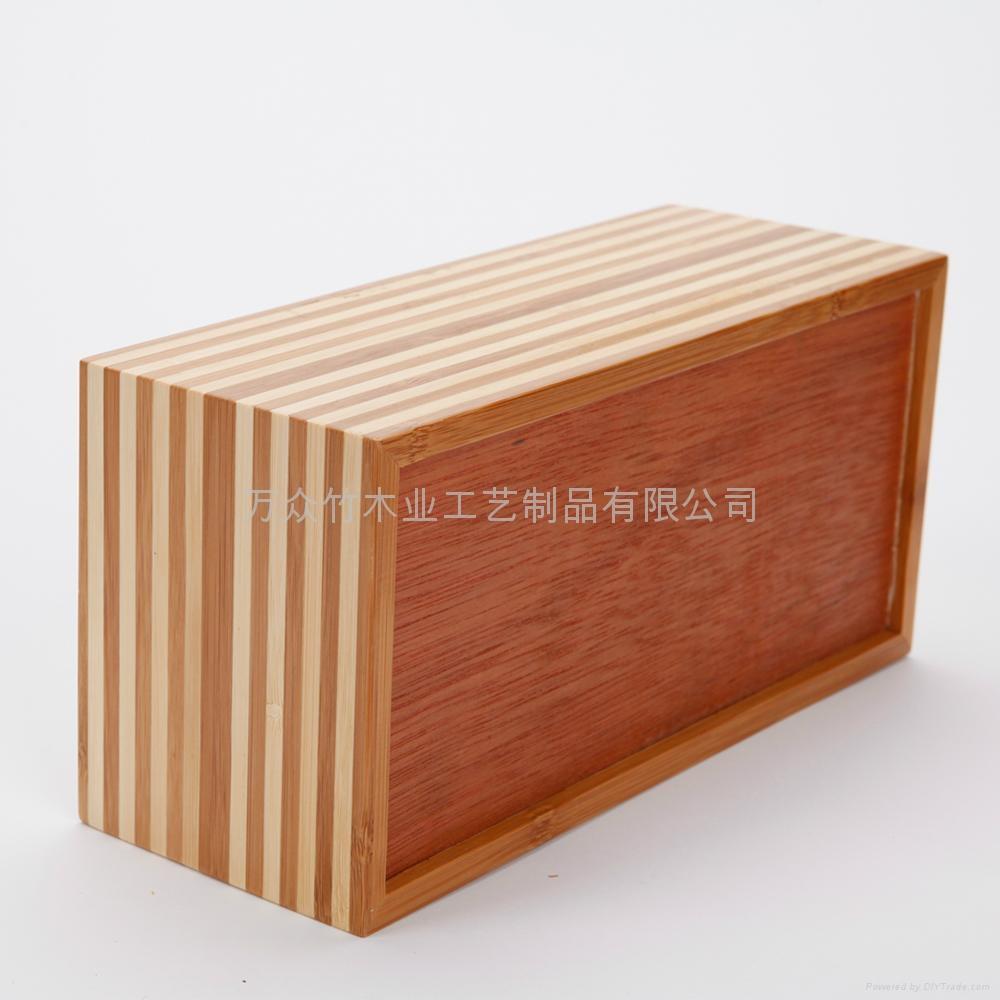 柏運達Bamwood竹制紙巾盒 2