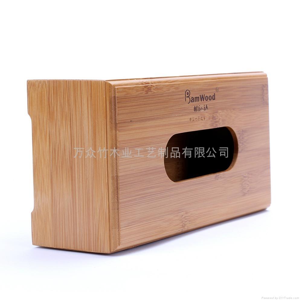 柏運達Bamwood竹制紙巾盒 4