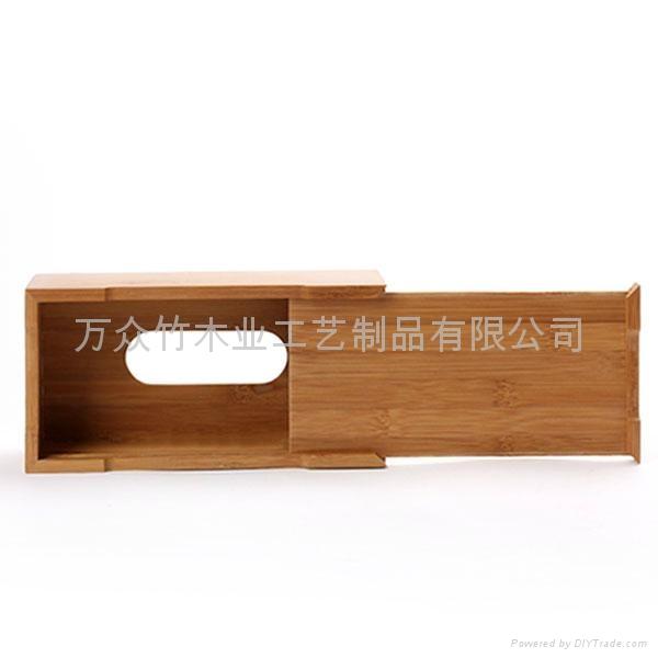 柏運達Bamwood竹制紙巾盒 5