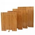 柏運達Bamwood長方形內設架子竹砧板 3
