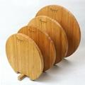 柏運達Bamwood圓形內置架子竹砧板 3