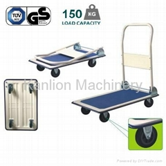 Foldable Steel Platform Handtruck warehouse tool storage system 150KGS