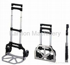 Mini Aluminum Folding Luggage Trolley