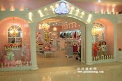 广州童装展柜