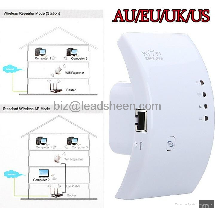 Wireless-N Networking Device Wifi Wi-Fi Repeater Booster Router Range Expander  3