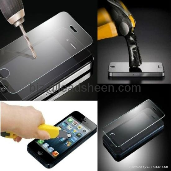 Tempered Glass Screen Protector for iphone5/5S/5C 3