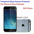 Newest Tempered Glass Screen Protector for iPhone6 plus 1