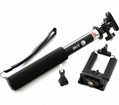 Telescopic Self-portrait Handheld Monopod For smartphone &Gopro Camera