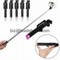 Bluetooth Monopod Selfie Sticks for Cell Phone Camera