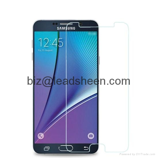 Newest Tempered Glass Screen Protector for Samsung Galaxy Note5 1