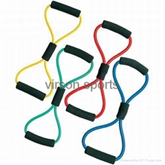 finess strech exercise bands & tubes