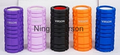 Virson top quality exercise eva grid foam rollers