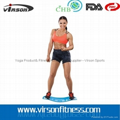 Ningbo Virson High quality ABS Sports a skateboard , body balance board fitness.