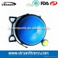 Ningbo Virson Top grade antique half oval gym ball massage ball bosu ball 2