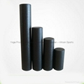 2-in-1 Black and White EPP Foam Rollers