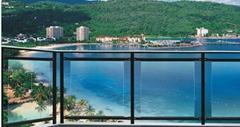 江西廠家直銷玻璃款陽台護欄