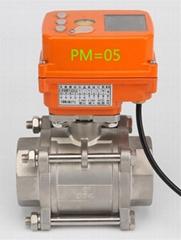 PM-05电动执行器AC220V电源4-20mA输入输出信号智能控制模块