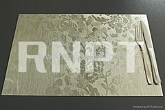 RNPT Brushed Table Place Mat--luxury table placemat