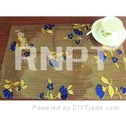 RNPT Sandwiched Laser Table Placemats and Dining Mats