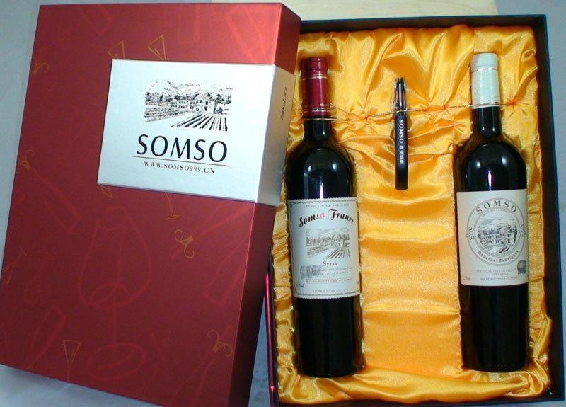Single red wine packaging 5