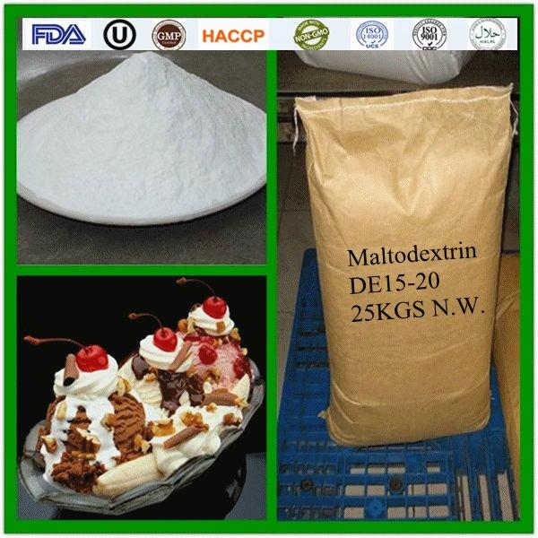 High quality sweetener maltodextrin with Kosher and Halal Certificates 1
