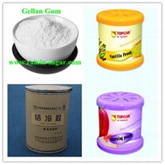 Food Additive Gelling Agent Elastic Gel Gellan Gum for Air Freshener