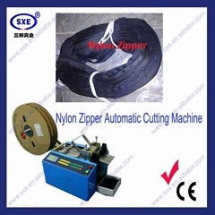 Auto Nylon Plastic Zipper Cutting Machine