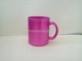 11oz sublimation pearl finished glass mug,  4