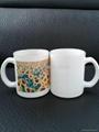 11oz Sublimation White glass mug  2