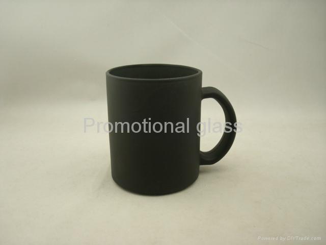 red color change glass mug  4