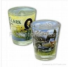 sublimation shot glass
