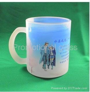 11oz Sublimation&frosted glass mug  1