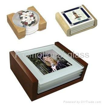 Tile, Glass coaster, ceramic coaster, tile