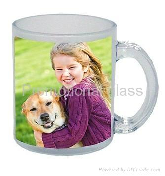 11 OZ Sublimation glass mug  1