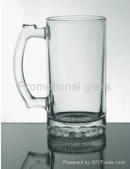16 oz Beer stein glass mug 1