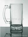16 oz Beer stein glass mug