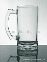 16 oz Beer stein glass mug