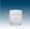 10OZ Sublimation Whiskey  whitte glass